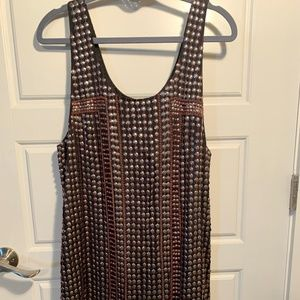 Free People-edgy, beaded shift dress.  Never worn